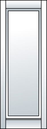 E1 - One Panel (Straight Top)