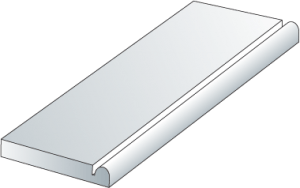 PVC Trimboard Smooth with Bullnose (BNS)