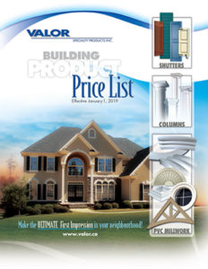 Valor Specialty Products Inc. Price LIst