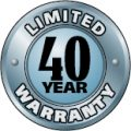 Valor 40 year limited guarantee