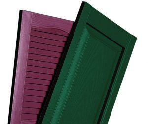 Valor custom vinyl shutters