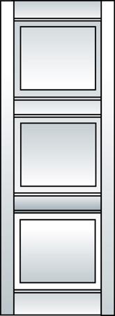 J1 - Three Panel (Equal Size Panels)