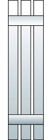 L1-S3 - Board & Batten, Spaced (3 Boards)