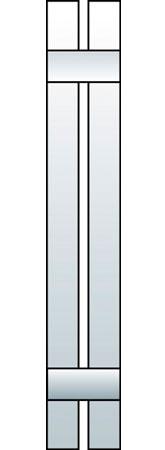 L1-S2 - Board & Batten, Spaced (2 Boards)