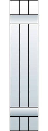 M1-J3 - Board & Batten, Joined (3 Boards)