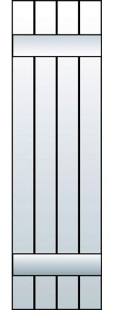M1-J4 - Board & Batten, Joined (4 Boards)
