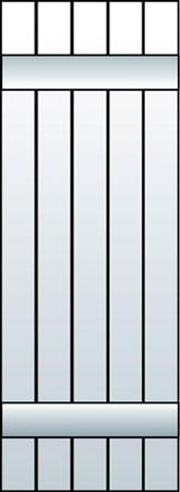 M1-J5 - Board & Batten, Joined (5 Boards)
