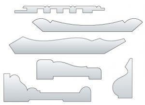 extruded mouldings